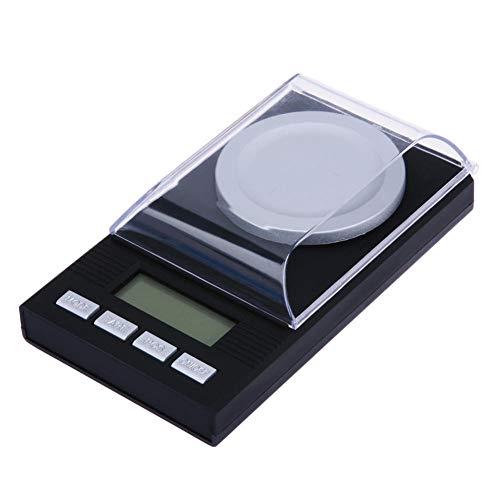 Multifunktionale Präzisionswaage Digitale Waage Lcd Elektronische Kapazität Balance Diamantschmuck Hochpräzise Taschenwaage Digitale Küchenkaratwaage 0,001 G 50 G 0,001 G