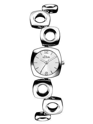 s.Oliver Damen Analog Quarz Armbanduhr SO-3005-MQ