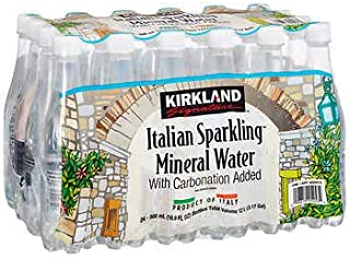 Kirkland Signature Italian Sparkling Mineral Waterカークランドシグネチャー イタリアン スパークリングウォーター 500ml24本