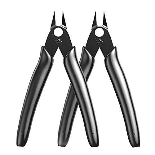 Flush Cutter 170II Tooldam Modello Shears Pinze diagonali per elettronica Black Manual Tool Set