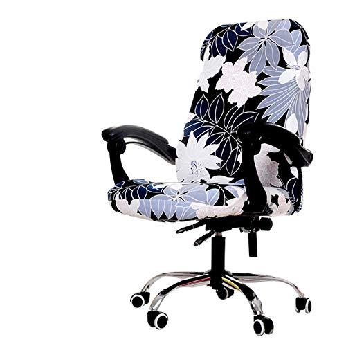 Draaibare kantoorcomputer Stoelhoes Spandex Bedrukte hoezen Stretch-stoelhoes Verwijderbare bureaustoelen Silpcover housse de chaise, 13, China