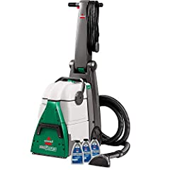 Tank capacity 1.75 gallons; Extra large dirt lifter power brush for deep scrubbing action Heavy duty suction power aids in fast drying time. Cleans on the forward and backward pass for reduced cleaning time and dries faster than the leading competiti...