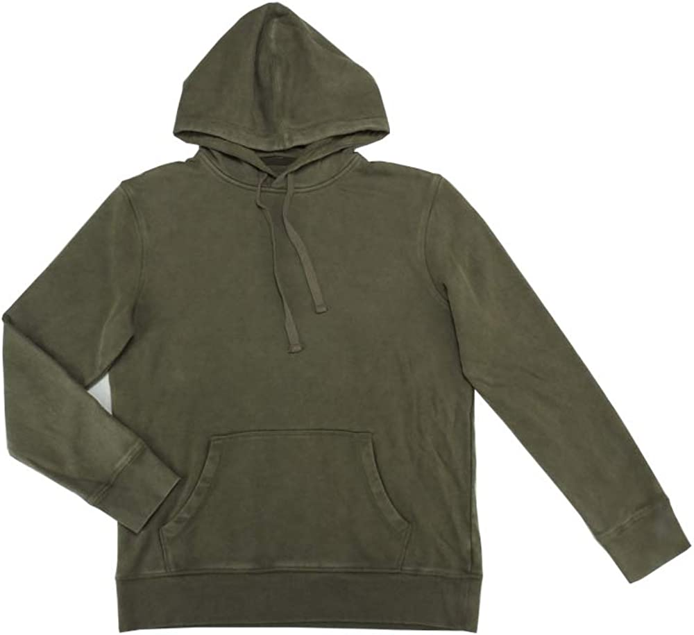Goodfellow & Co. Mens Long Sleeve Mineral Wash Pullover Hoodie w/Kangaroo Pouch