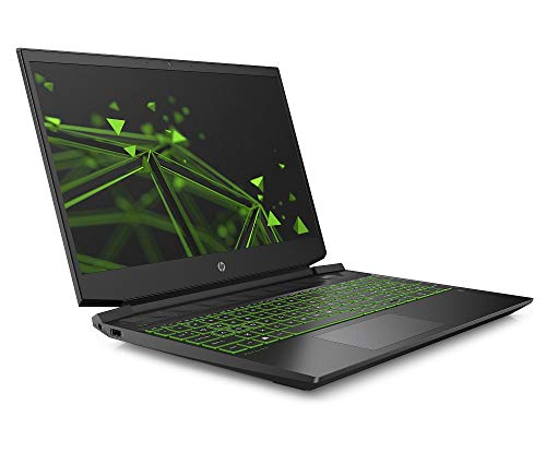 HP Pavilion Gaming 15-ec1223ng (15,6 Zoll / FHD IPS 144Hz) Gaming Laptop (AMD Ryzen 7 4800H, 16GB DDR4 RAM, 1TB SSD, Nvidia GeForce GTX 1660Ti 6GB (MAX-Q) ) Windows 10 Home, Schwarz