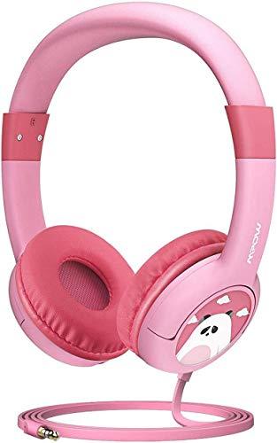 Headset Kinderen CH185 decibel volume, Ltd. gehoorbescherming, delen van muziek en licht gewicht zachte oorkappen veilig voedsel kwaliteit materialen kind, Wired oortelefoon voor kinderen/jonge kinderen/infan