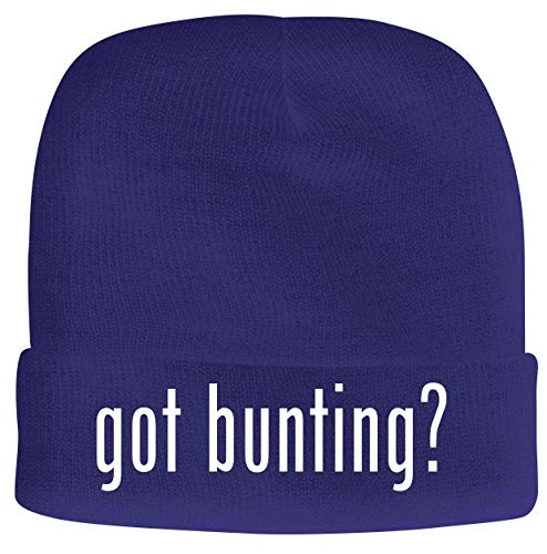 BH Cool Designs got Bunting? - Men's Soft & Comfortable Beanie Hat Cap, Blue, One Size