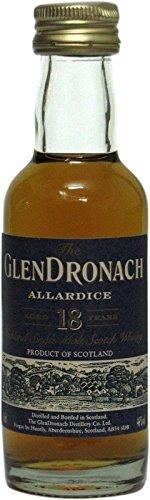 The Glendronach Whisky 18 Jahre 0,05l Miniatur - Highland Single Malt Scotch Whisky