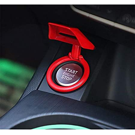 choolo Car Engine Start Button Cover,Push to Start Button Key Ignition Knob  Protective Cover Decorative Trim Sticker (1 Piece Red) : Amazon.in: Car &  Motorbike