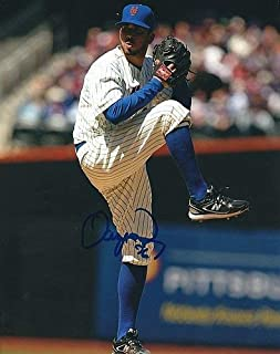 Autographed Signed Oliver Perez 8x10 New York Mets Photo - Certified Authentic