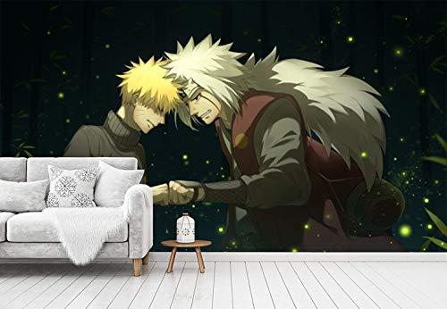 Blovsmile Uzumaki Naruto Jiraiya Tapete Non-woven Wallpaper 3D Living Room Tv Bedroom Background Decoration-250 * 200