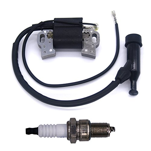 FitBest New Ignition Coil+Spark Plug For Honda GX240 GX270 GX340 GX390 8HP / 9HP / 11HP / 13HP Engines