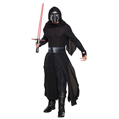 KULTFAKTOR GmbH Kylo Ren Star Wars Kostüm Lizenzware schwarz-Silber M / L