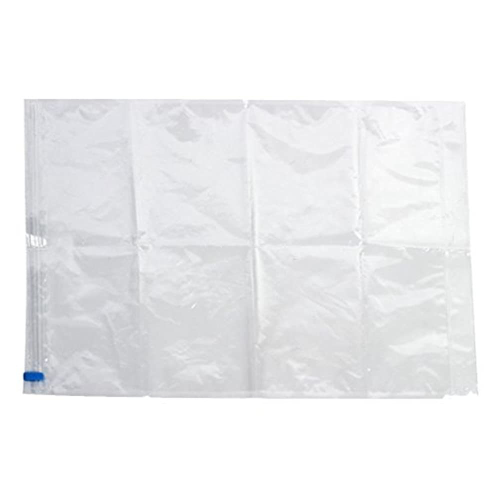 Water-Proof Vacuum Compression Storage Seal Bag Organizer Space Saver