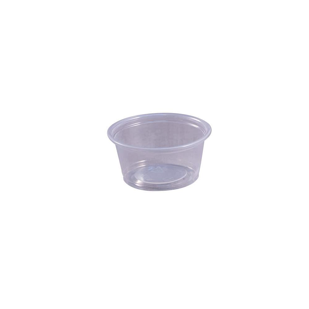 EPC200 Empress Plastic Portion Cup 2oz per cas Ranking Super popular specialty store TOP19 2500 50 Clear