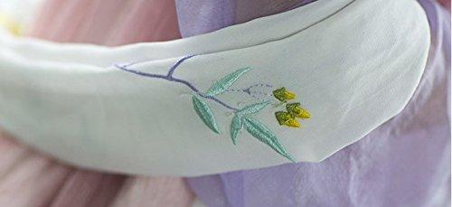 『中国伝統衣装時代服唐装漢服刺繍齐胸襦裙ステージ衣装卒業式お祭り オーダー製作 (L) [並行輸入品]』の6枚目の画像
