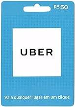 Cartão UBER R$ 50 Reais Pré-pago Gift Card