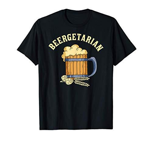 Beber Aamnte Cerveza Jarra Beer Lover Regalo Beergetarian Camiseta