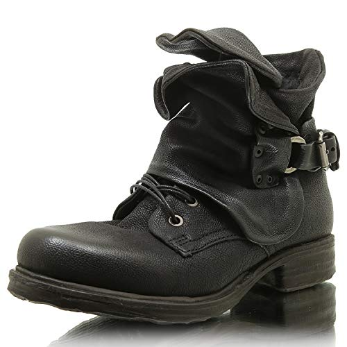 A.S.98 259211-0102 Damen Winter Stiefelette Biker Boots (40)