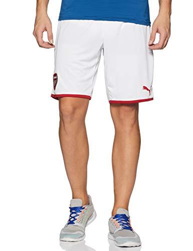 PUMA Herren AFC Replica Shorts White-Chili Pepper, L