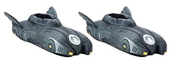 DC Comics Batman Batmobile Replica Soft Slippers  Size Medium