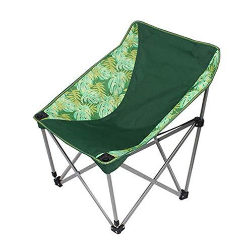 H-BEI Silla de Camping Plegable Portátil Mini Silla Plegable Ligero Camping Senderismo...