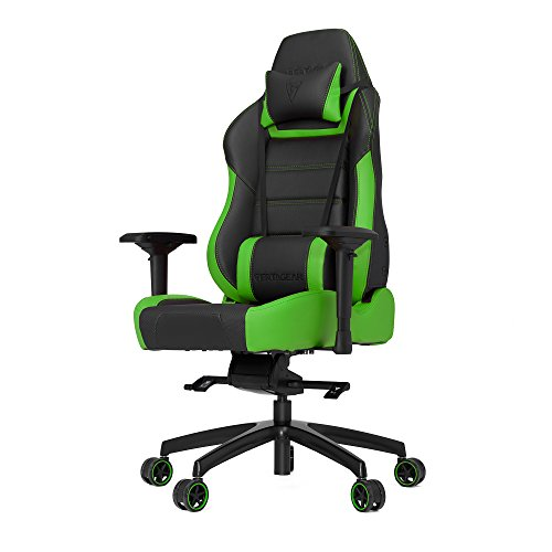 Vertagear PL6000 Racing Series Ergonomic Gaming Office Chair (Rev. 2) (Green)