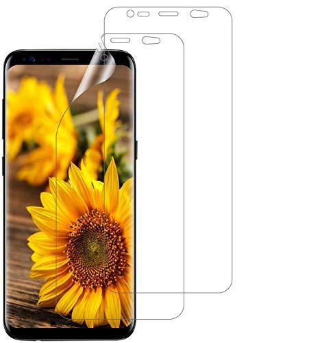 DOSMUNG Pellicola proteggi schermo per Samsung Galaxy S8 Plus, ultra sottile, morbida, ad alta definizione, anti-graffio, senza bolle, in TPU trasparente