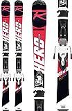 Rossignol Hero 130-150 Xpress JR 7 B8 Esquís, Niños, Rojo/Negro, 140 cm