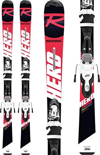 Rossignol Hero 130-150 Xpress JR 7 B8 Skis Enfants Rouge/Noir 140 cm