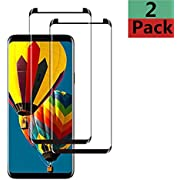 hairbowsales S1 Screen Protectors Clear Compatible S7 Screen Protectors.Black.03.12