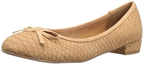 Athena Alexander Women's Elissa Dress Pump, Beige Crocodile, 6 M US