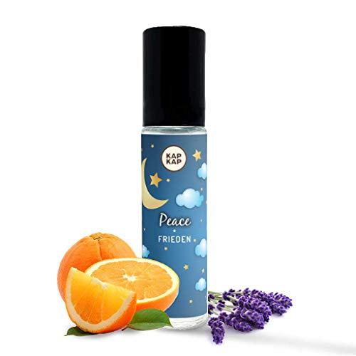 Biologische parfumolie voor kinderen – natuurlijke aroma-olie voor de gezondheid – parfum van gecertificeerde organische oliën van citrus en eucalyptus – met vitamine E, zonder alcohol