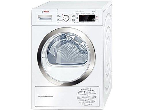 Bosch WTW87560GB Libera installazione Carica frontale 9kg A++ Bianco asciugatrice