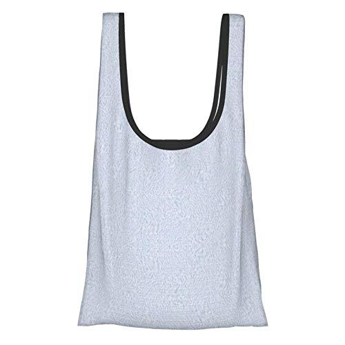 Lionel Philip Muster Blue Einkaufstüten Einkaufstaschen Einkaufstaschen Wiederverwendbare faltbare umweltfreundliche wasserdichte