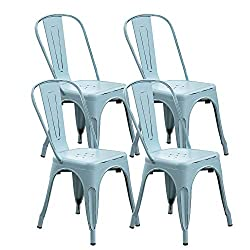 4 Pack Of Metal Chairs - 40% Off!