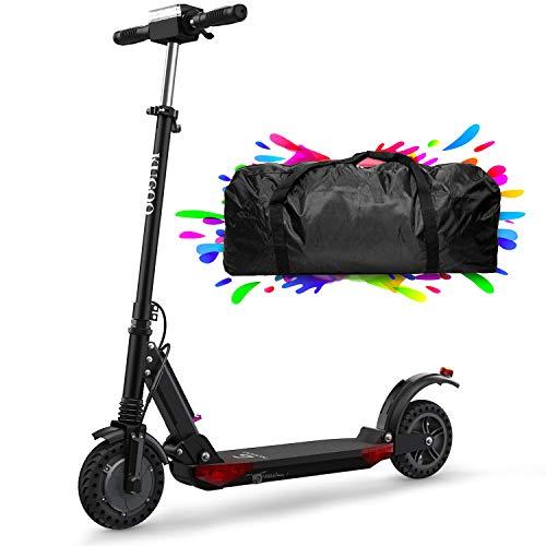 Patinete Eléctrico Scooter Plegable, 30 Km Alcance, 350W Motor Hasta 30km/h, Manillar Ajustable Scooter Electrico para Adultos Unisex y Adolescentes - S1 Pro (Negro)