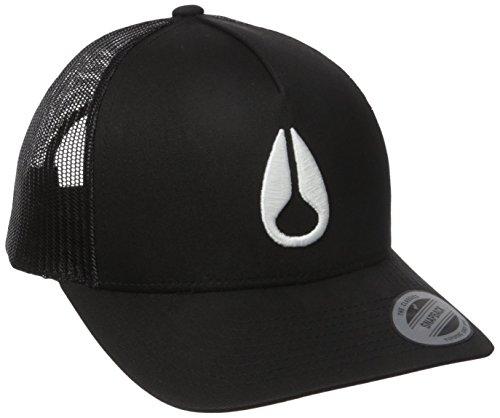 NIXON Iconed Trucker Sombrero para hombre - Negro - talla única