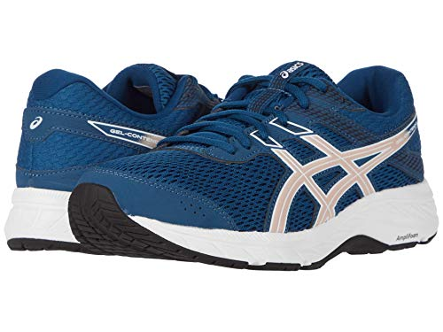 ASICS Women's Gel-Contend 6, Mako Blue/Peach, 8 B (M)