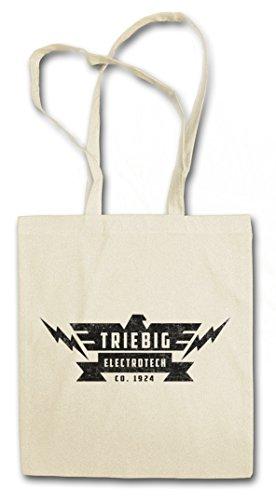 Urban Backwoods TRIEBIG ELECTROTECH Bolsas de la Compra Reutilizables – Signo símbolo Marca Empresa Firma fábrica Consorcio Grupo Emblema