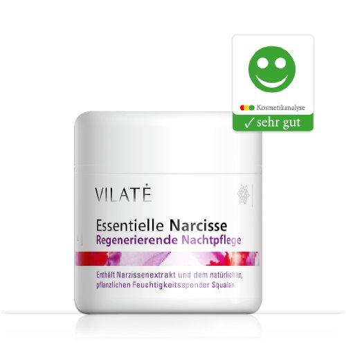 Vilate Narcisse glättende Nachtcreme – Für die Haut ab 30, wirkt sofort gegen die ersten und zweiten Fältchen