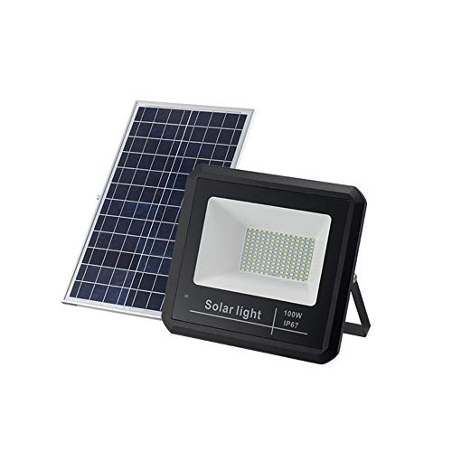 Popertr Solar al Aire Libre luz de inundación de IP67 100W Impermeable 208leds luz de...