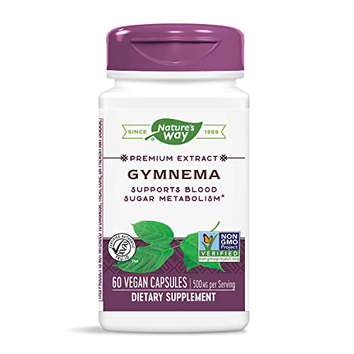 Nature's Way Gymnema Capsules, 500 mg per serving, 60 Count