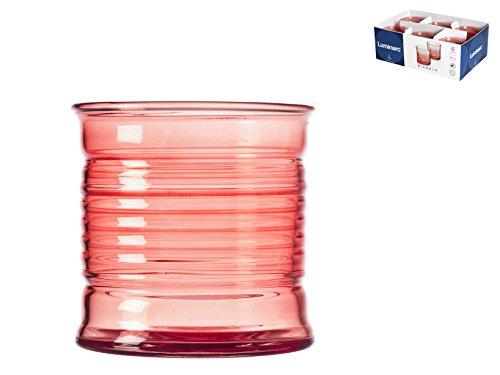 Luminarc N5270 6 gobelets Bas 30 cl Rouge-Diabolo Fraise
