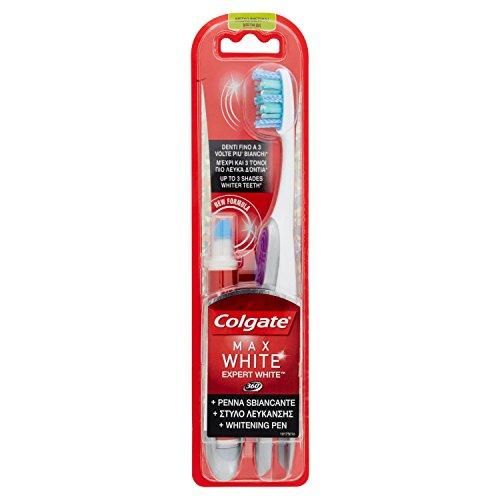 Colgate tandenborstel whitening pen Expert White - Pack 1 x borstel + 1 x whitening pen