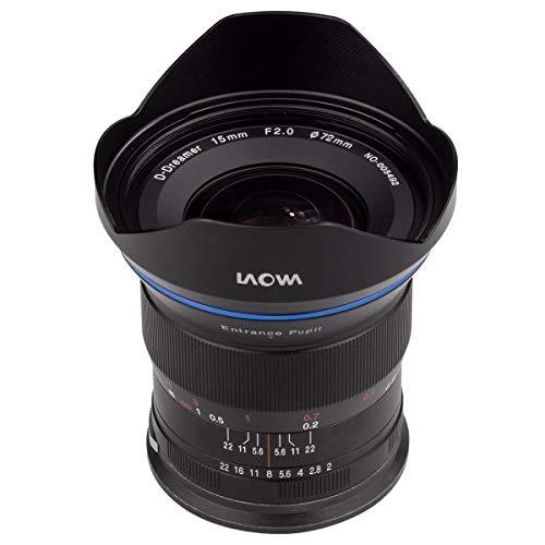 Venus Laowa 15mm f/2 FE Zero-D Lens for Canon EOS...