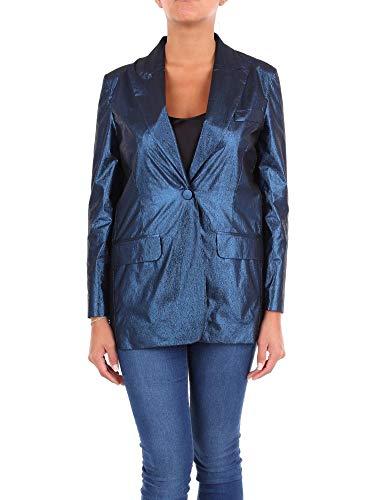 Boutique Moschino Luxury Fashion Damen A050708390290 Blau Elastan Blazer   Jahreszeit Outlet