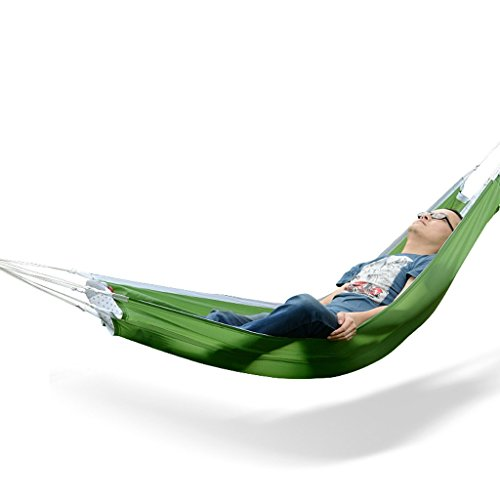1/2 People Portable Camping Tourism 2 Color 2 Size Optional Hammock Outdoor (Size : 1190×72CM)