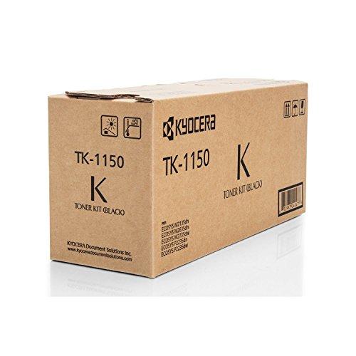 Kyocera Original 1T02RV0NL0 / TK-1150, für ECOSYS P 2235 DN Premium Drucker-Kartusche, Schwarz, 3000 Seiten