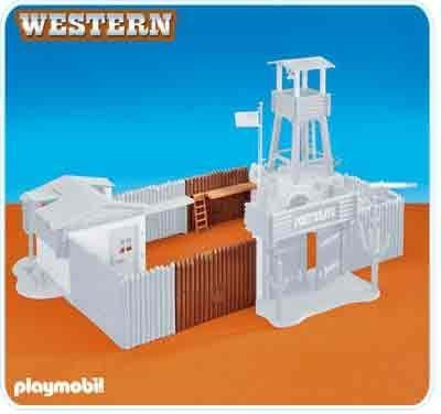 Playmobil Extension for Western Fort (6270) by...