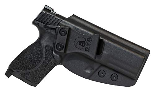 """CYA Supply Co. Fits S&W M&P 9/40 M2.0 Compact 4"""" Barrel Inside Waistband Holster Concealed Carry IWB Veteran Owned Company (Black, 047- S&W M&P 9/40 M2.0 Compact 4"""")"""